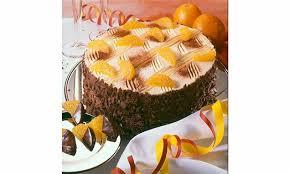 mascarpone sekt torte mit orangenfüllung