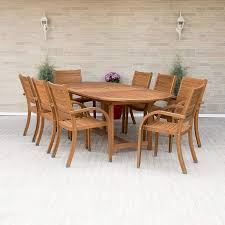 Amazon.com: Amazonia Arizona 9 Piece Oval Outdoor Dining Set ... Tortuga Outdoor Portside 5piece Brown Wood Frame Wicker Patio Shop Cape Coral Rectangle Alinum 7piece Ding Set By 8 Chairs That Keep Cool During Hot Summers Fding Sea Turtles 9 Piece Extendable Reviews Allmodern Rst Brands Deco 9piece Anthony Grey Teak Outdoor Ding Chair John Lewis Partners Leia Fsccertified Dark Grey Parisa Rope Temple Webster 10 Easy Pieces In Pastel Colors Gardenista The Complete Guide To Buying An Polywood Blog Hauser Stores