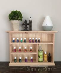 Unfinished Bathroom Wall Storage Cabinets by Essential Oil Wall Shelf Unfinished Essential Oil Storage