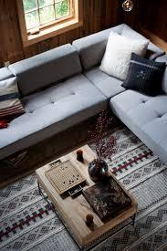 West Elm Tillary Sofa Slipcover by On Set A Dreamy Catskills Farmhouse Front Main