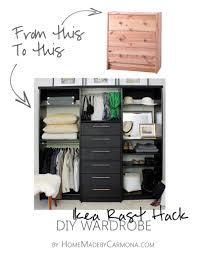 6 Drawer Dresser Ikea by Wardrobe Hack Diy Wardrobe Wardrobes And Ikea Hack