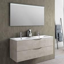 komposition für badezimmer mit doppelwandmontage aus melamin hergestellt in italien bergen