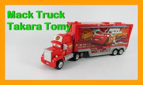 Video รถแมคควีน รถพ่วง บรรทุกรถของเล่น Disney Cars Mack Truck Hauler ...