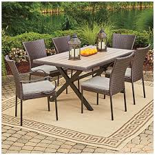 wilson fisher hyde park 7 piece dining set at big lots just