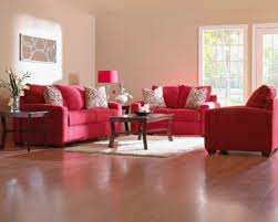 do you know how many people show up at red sectional living room