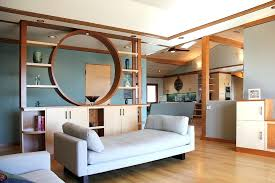 Living Room Divider Cabinets Modern Dividers Contemporary With Ranch Remodel Circular Cabinet