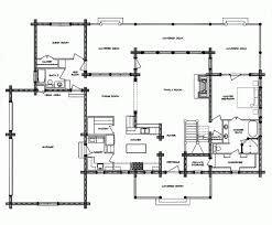 Large Log Cabin Floor Plans Photo by Inspiring Log Cabin Floor Plans With Garages And Large Family Room