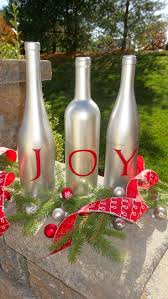Decorative Wine Bottles Ideas by 46 Best Spray Painted Items Images On Pinterest Wine Bottle