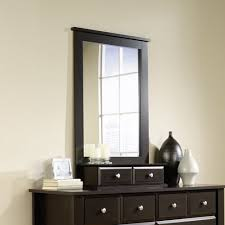 shoal creek dresser jamocha shoal creek 6 drawer dresser and mirror jamocha walmart