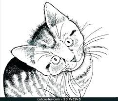 Kittens Coloring Pages With Kitten Cute Kitty