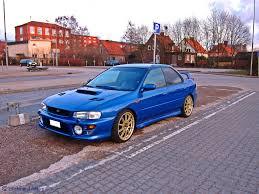 100 Subaru Trucks Impreza GT A Nice Blue Impreza GT With A Big Flickr