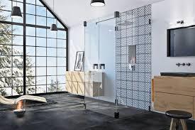 schwarz weiße badeinrichtungen harmonie der gegensätze