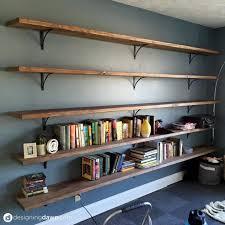 Wood Building Shelves by Best 25 Office Bookshelves Ideas On Pinterest Office Shelving