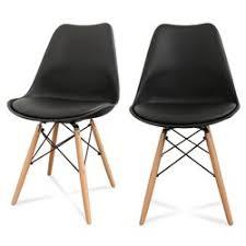 chaise drawer lot de 2 chaises design ormond steelwood drawer chaise déco rémi