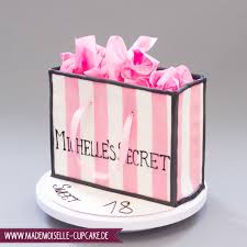 shopping bag mademoiselle cupcake