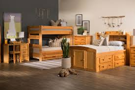 Bunk Beds Okc by Traditional Youth Twin Bunk Bed In Cinnamon Mathis Brothers