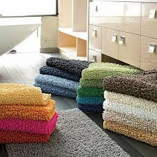 Large Modern Bathroom Rugs by Company Cotton Chunky Bath Rug