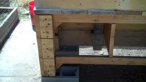 Building A Backyard Aquaponics Mini Fish Farm Rabbit Hutch Part 1