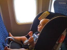 reserver siege air bébé en avion réserver un siège oui ou non