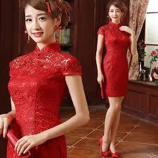 popular chinese wedding dress short buy cheap chinese wedding