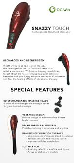 OGAWA Singapore - Handheld Massagers Snailax Shiatsu Neck And Back Massager With Heat Deep Tissue Portable Rechargeable Wireless Handheld Hammer Pads Stimulator Pulse Muscle Relax Mobile Phone Connect Urban Kanga Car Seat Grelax Ez Cushion For Thigh Shoulder New Chair On Carousell 6 Reasons Why Osim Ujolly Is The Perfect Full Klasvsa Electric Vibrator Home Office Lumbar Waist Pain Relief Pad Mat Qoo10 Amgo Steam Sauna 9007 Foot Amazoncom Massage Chair Back Massager Kneading Yuhenshop Foldable Portable Feet Care Pad Modes 10 Intensity Levels To Relax Body