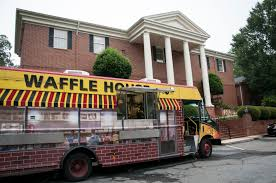 The Waffle House Food Truck Isn't New — But It Might Pop Up Near You ... Utah Food Truck Brings Waffles With Love Kennedy Center Offices In Denver Liege Waffle Little Red Houses New Is What Every Southern Party Needs Riya Mehta Packaging House Hits The Road Food Truck Catering Service Chicky Columbus Trucks Roaming Hunger Wagon Is A Family Affair Life Chronlinecom The Belgian Home Golden At Soma Streat Park San Franci Flickr Isnt But It Might Pop Up Near You