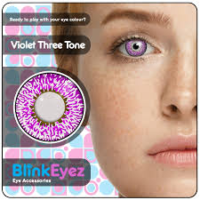 BLUE RUSH CONTACTS 1 MONTH