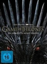 of thrones staffel 8 4 dvds