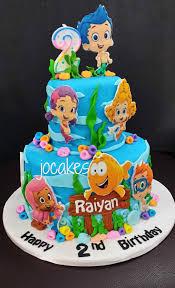 bubble guppies cake google search cakes pinterest bubble