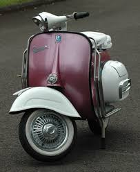 Vintage Vespa Scooter Wallpaper