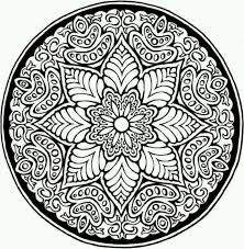 Mandala Coloring Pages Online Cool Intricate Coloring Pages Online
