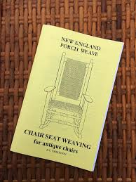 Chair Caning And Seat Weaving Kit by New England Porch Weave Kit Fix Grandma U0027s Rocker Or Chair