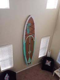 Decorative Surfboard Wall Art by Surfboard Racks Paddle Board Racks Made Locally In Venice California
