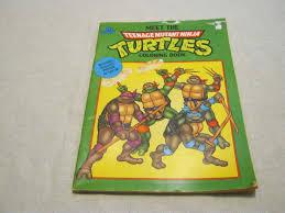 Ninja Turtle Coloring Book Download Turtles Pages Online Vintage Meet Teenage Mutant Pictures To Print