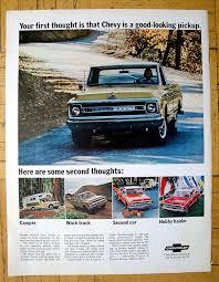 100 Truck Camper Magazine 1969 Chevrolet Longhorn Pickup Original 135 105