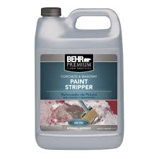 Zep Floor Sealer Sds by Behr 1 Gal Concrete And Masonry Paint Stripper 99201 The Home Depot