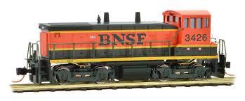 99 N Scale Trucks MicroTrains MTL EMD SW1500 Diesel Locomotive BSFHeritage