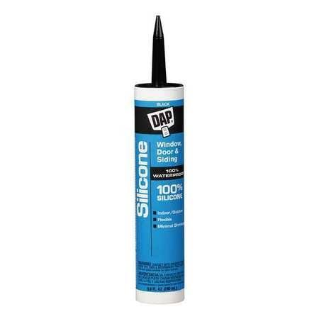 DAP Black Silicone Sealant