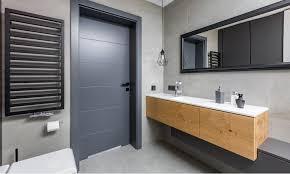 33 stylish bathroom door ideas