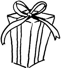 Present black and white presents clip art black and white free clipart