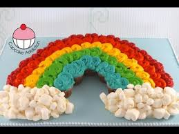 Rainbow Cupcake Cake By My Addiction Featured In MyCakeSchools Roundup Of The