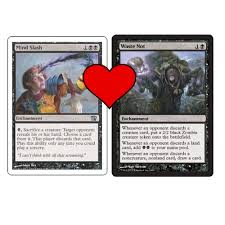 deck mtg modern mtg modern deck waste not with a not yet printed card