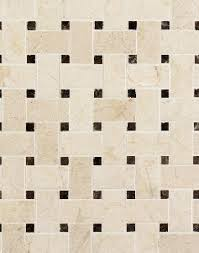 crema marfil honed with emperador dot mesh 皓 la tile granite