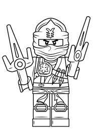 Click To See Printable Version Of Lego Ninjago Jay ZX Coloring Page