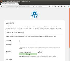 Cara Install Lamp Ubuntu 1404 by How To Install Wordpress 4 7 On Ubuntu 16 04 With Apache Mariadb