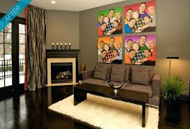 Bachelor Pad Wall Decor by Wall Decor On A Budget Large White Sofa Small Living Room Ideas