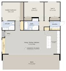 Zen Beach 3 Bed Floor Plan 123m2