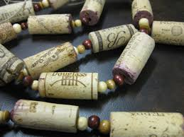 Christmas Tree Bead Garland Ideas by The Wooden Bee Blog Archive Wine Cork Garland