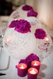 décoration de mariage thème fushia