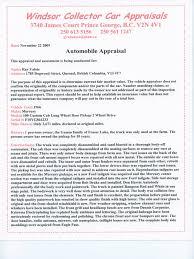 100 Truck Appraisal W C C Appraisal 1 Trunk Car Pickup